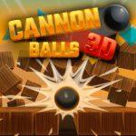 Bolas de cañón en 3D