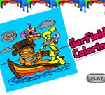 Garfield Para Colorear