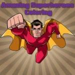 Increíble Superhéroes Para Colorear