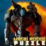 Metal De Puzzle Robot