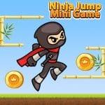Mini juego Ninja Jump