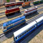 Subida A La Montaña De Tren De Pasajeros Simulador