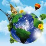 Mundo El Día De La Tierra Rompecabezas