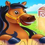 Granja de animales para niños. Juegos para niños pequeños en línea