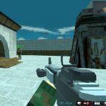 Arena 3D Pixel de Combate