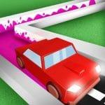 Pintura de conducción de automóviles 3D