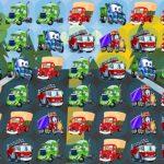 De Dibujos Animados De Camiones De Match 3