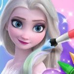 Libro de colorear para Elsa