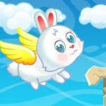 Conejito De Pascua Volando