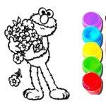 Elmo Libro Para Colorear