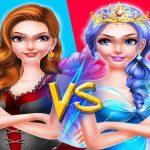 Vestido de princesa de hadas VS maquillaje de bruja 2021