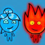 Chico fuego y chica agua 3 en el templo de hielo