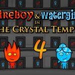 Niño Fuego y Niña Agua 4 Templo de Cristal