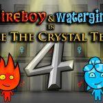 Juego de templo de cristal Fireboy and Watergirl 4