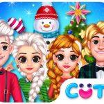 Celebración de Navidad de Frozen Princess
