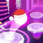 Hop Ball 3D: Dancing Ball en Marshmello Tiles Road