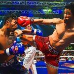 Rompecabezas de luchadores de MuayThai