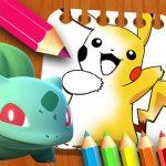 Libro de colorear de Pokemon para niños