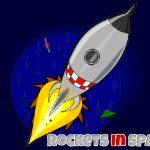 Los cohetes en el Espacio