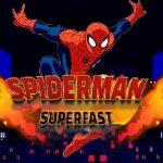 Spiderman corre superrápido