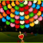 Rueda de burbujas de San Valentín