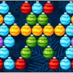 Tirador de burbujas de Navidad