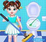 Bebé Taylor Limpieza De La Casa