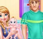 Anna embarazada y cuidado del bebé