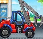 Fábrica de camiones para niños